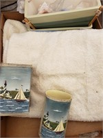 Sailboat Bathroom Set