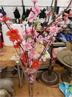 Vase with Cherry Blossoms