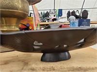 Elephant Basket Decorative Piece