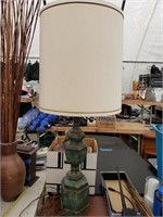 Blue/Green Table Lamp