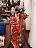 Geisha Girl Figure