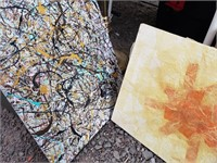 Set of 2 Canvases/Art