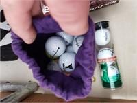 Crown bag of Golf Balls