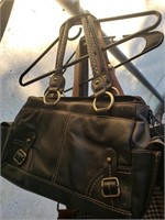 Lot of 2 Purses- Black and Brown