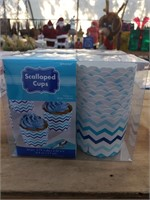 Scalloped Cups 2 Boxes