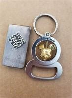 Disney Parks Bottle Opener Keychain