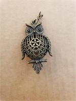 Small Owl Pendant