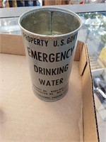 U.S. Government Emergency Drinking water Can