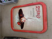 2 Coca Cola Trays