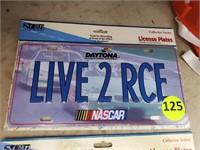 LIVE 2 RCE License Plate