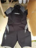 Ho Sports grey black wster suit junior 12