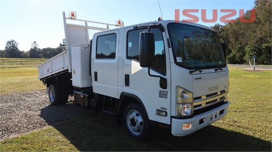 2014 Isuzu NPR 400 Crew Cab Used Isuzu Trucks - Trucks for Sale