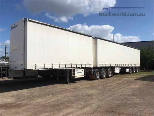 2012 Vawdrey B Double Tautliner / Curtainsider Trailers - Trailers for Sale