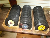 3 Boxes 45 rpm Record Collection