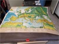 Large European Wall Map