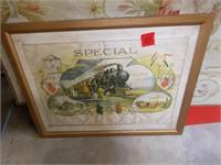 Railroad Framed Print