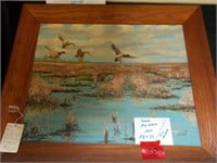 Oil Painting NY Artist Signed Framed Painting