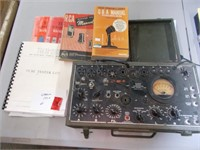 Tube Tester 1-177A Works With Books