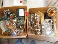 2 Boxes Transistor Radio Parts