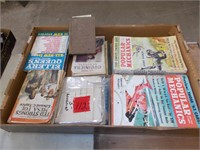 Popular Mechanics Magazines & Others