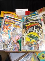 Superman Comics, 9 Pices Sealed Mint Cond.
