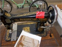 The Domestic Sewing Machine