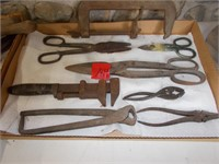 Cutting Pliers, Monkey Wrench, Clamp, Snips