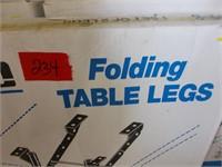3 Folding Table Legs