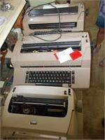 3 IBM Typewriters