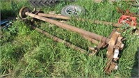 4pc Mobile Home Trailer Axles & Pair of Tires/Rims