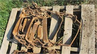 Bobcat Skid Steer Metal Tracks for 10.0-16.5 Tires