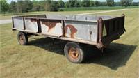 Flat Rack Wagon w/ Oliver Box