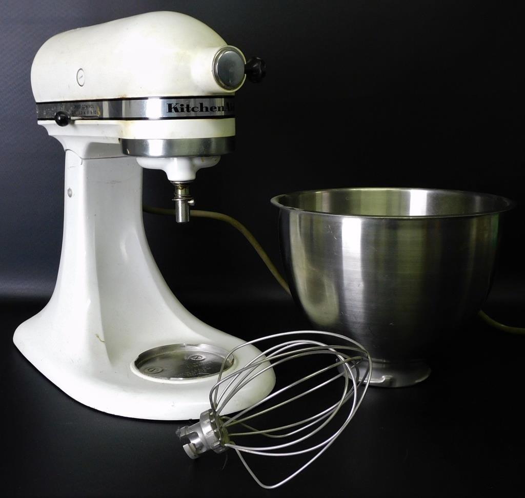 Vintage Hobart Kitchenaid Mixer Model K45 345 Auction