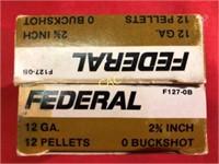 5rds Federal 12ga Shotgun Shells
