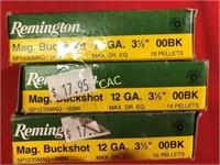 5rds Remington 12ga Shotgun Shells