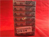 5rds Winchester Super X 20ga Shotgun Shells