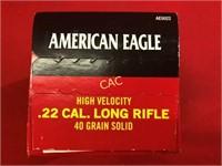 500rds American Eagle 22lr 40gr