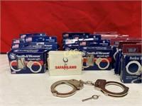 Box Lot of Handcuffs
