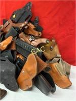 Box Lot of Handgun Holsters