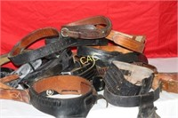 Box Lot of Holsters & Belts
