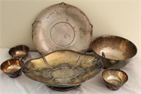 Sterling Silver & Silver Plate Lot