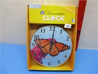 New Decorative Butterfly Clock