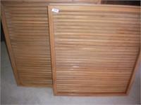 Wooden Vents