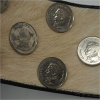 Foreign Coins/Animal Belt/Wall Display