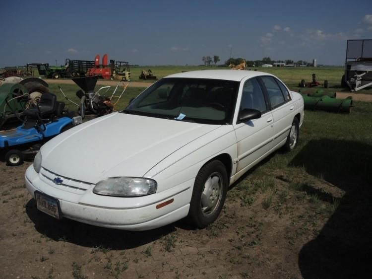 1999 chevy lumina car wieman land and auction 1999 chevy lumina car wieman land