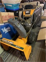 tools, dryer, generator, crosscut saw, charcoal grill, more