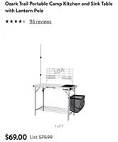 Ozark trail portable kitchen