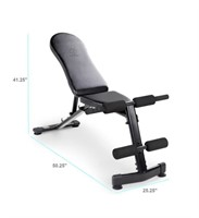 Marcy foldable utility bench