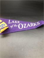 1963 Lake of the Ozark Pennant