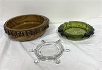 Vintage cool design ashtrays